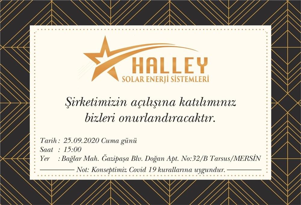 Halley Solar Enerji Sistemleri Tarsus'ta Açılıyor
