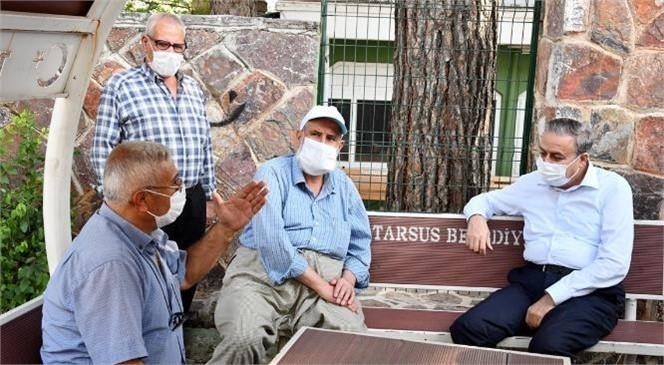 Vali Su, Tarsus'un Çamalan ve Gülek Mahallelerinde Vatandaşlarla Buluştu