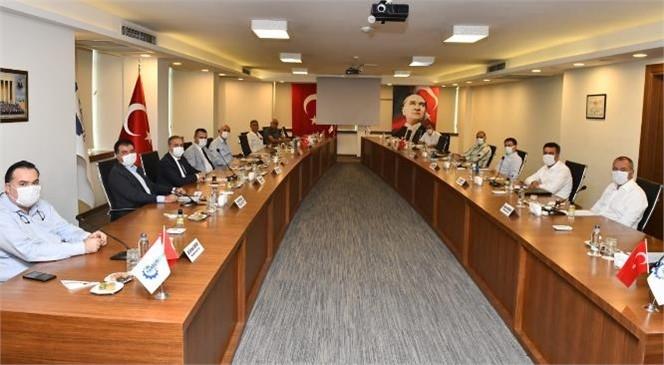 Tarsus Organize Sanayi (333 Ha) İçmesuyu, Yağmursuyu, Atıksu, Alt Yapı, 4000 M3 Su Deposu ve Yol Yapım İşi İhalesi Gerçekleştirildi