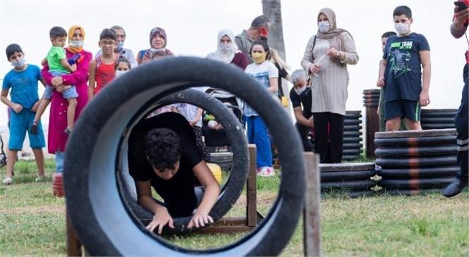 Mersin Büyükşehir'den İtfaiye Haftası'nda Çocuklara Özel Etkinlik