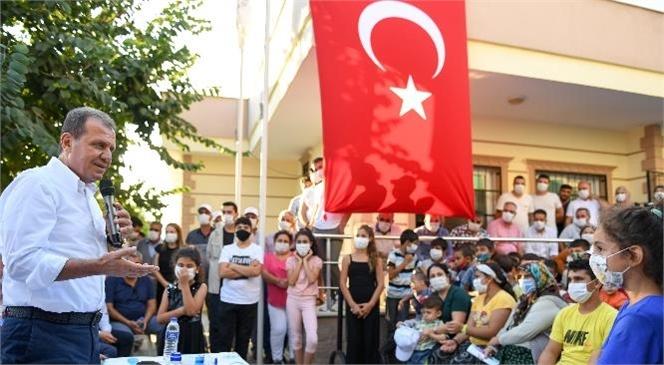 Başkan Vahap Seçer, Tarsus'un Barbaros, Bahçe, Şahin ve Yeşil Mahallelerini Ziyaret Etti