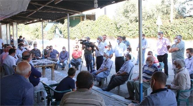 Akdeniz Belediye Başkanı Gültak, Akdeniz'in Kırsal Mahallelerini Ziyaret Etti