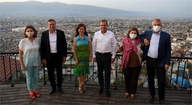 Mersin, Adana ve Hatay Büyükşehir Belediye Başkanları, Bölgedeki Çalışmaları Değerlendirip, Tecrübelerini Paylaştı