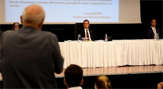 Mersin Büyükşehir Belediye Meclisi'nin Kararı İle Otogar Esnafının Borçlarına % 35,7 İndirim