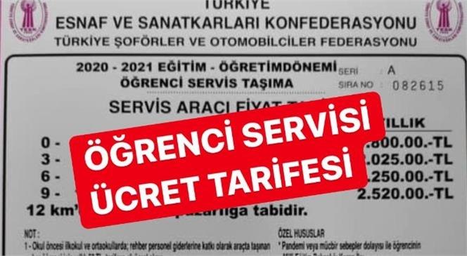 Mersin'de Yeni Dönem Öğrenci Servisi Ücretleri Belli Oldu