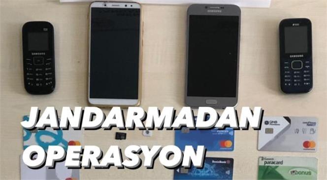 Mersin'de Jandarmadan Siber Operasyon! Dolandırıcılar Yakalandı