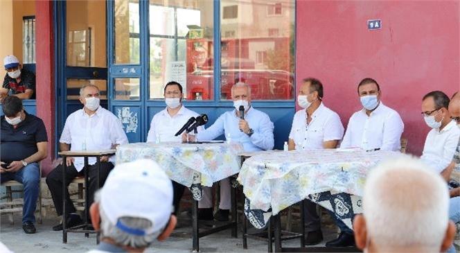 Akdeniz Belediye Başkanı Gültak, 1 Günde 7 Kırsal Mahalleyi Ziyaret Etti