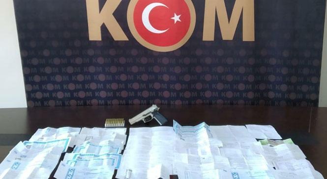 Mersin Tarsus'ta Tefecilere Operasyon 2 Kişi Gözaltına Alındı
