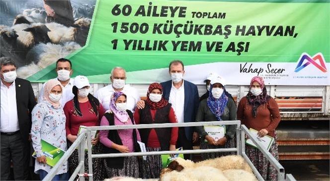 Mersin Büyükşehir Belediye Başkanı Vahap Seçer, Her Hafta Sonu Gerçekleştirdiği Saha Gezileri Kapsamında Hafta Sonu Programını Erdemli'ye Ayırdı