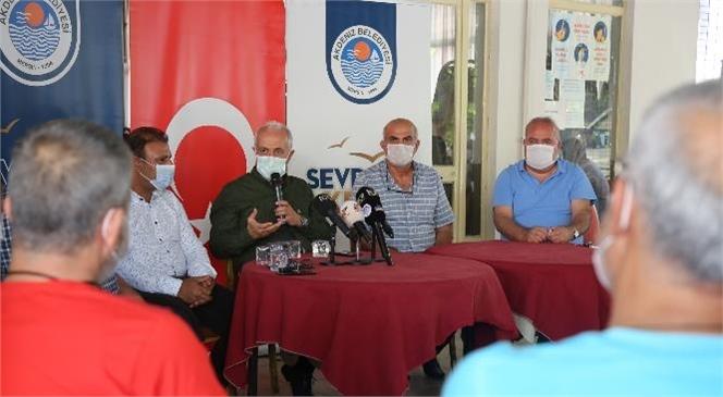 Akdeniz Belediye Başkanı Gültak'tan Turgutreis Mahallesine Ziyaret