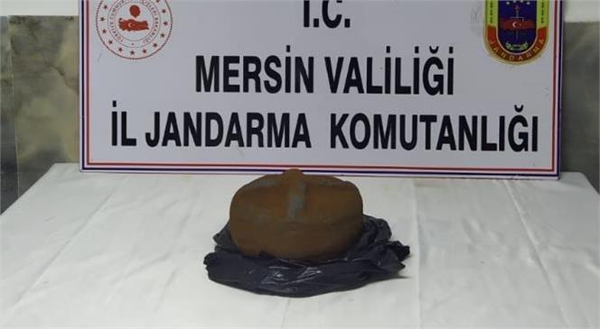 Mersin Silifke Balandız Mahallesinde Kaçak Kazı Yapanlara Yönelik Operasyonda Tarihi Çömlek Ele Geçirildi