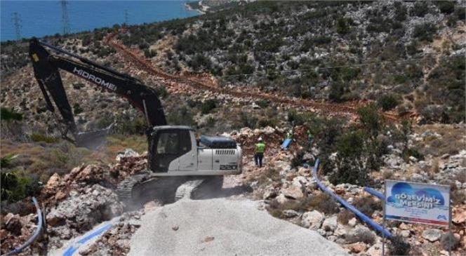 İmamuşağı ve Kocapınar Mahalleleri Yeterli Kapasitede Suya Kavuştu