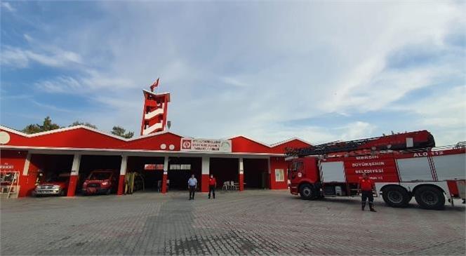 Büyükşehir İtfaiyesi Tarsus Grup Amirliği Hizmet Binasına Kapsamlı Bakım