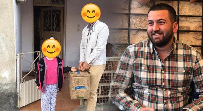 İş İnsanı Coşkun Kaya, Zor Günlerde Kapısını Çaldığı İhtiyaç Sahibi Ailelerin Yüzlerini Güldürdü