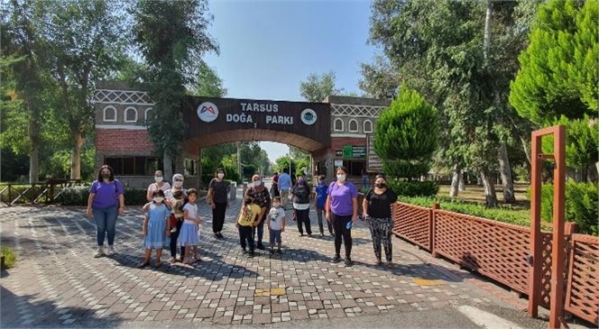 Tarsus Doğa Parkı'na Ekim Ayında 40 Binin Üzerinde Ziyaretçi