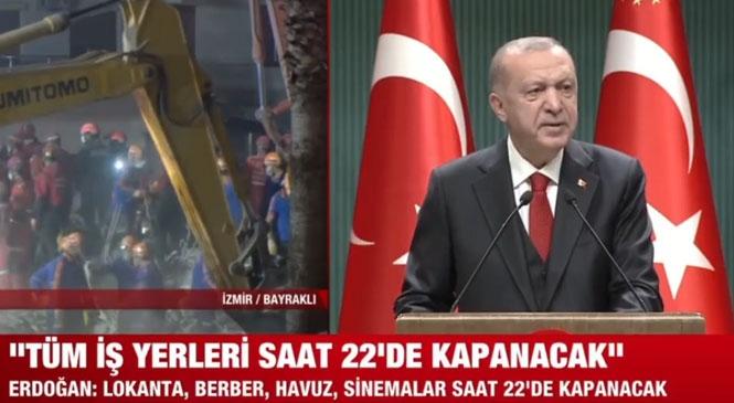 Cumhurbaşkanı Recep Tayyip Erdoğan Kabine Sonrası Açıklama Yapıyor