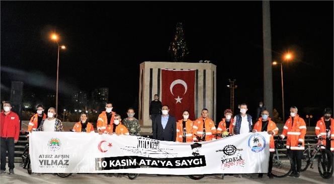 """Mersin'den Ankara'ya Gidiyorlar! Toroslar'dan Anıtkabir'e, """"Ata'ya Saygı"""" İçin Pedal Çevirecekler"""