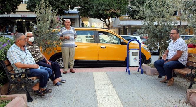Akdeniz Belediyesi, Çamlıbel Âşıklar Parkı'nı Yeniledi
