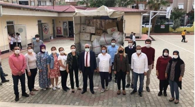 Anamur Kıbrıs İlkokulundan İzmir'e Deprem Yardımı