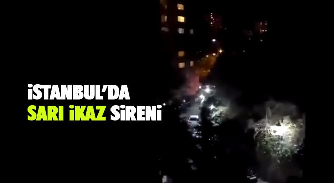 2 İlçede #siren Sesi! İstanbul Üsküdar ve Kadıköy'de Siren Sesi! Siren Sesleri ve Süreleri Ne Anlama Geliyor: Siren Sesi ve Anlamı