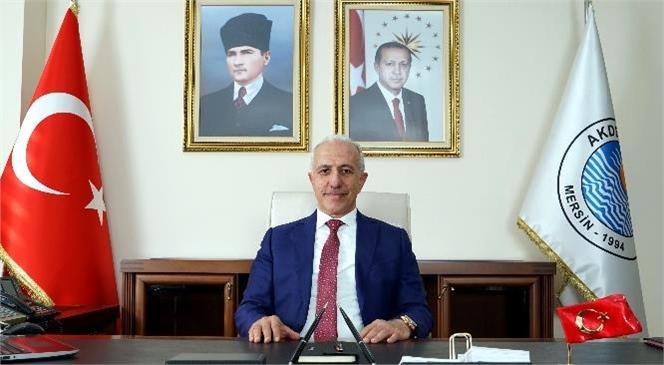 Akdeniz Belediye Başkanı Gültak'tan; 10 Kasım Mesajı