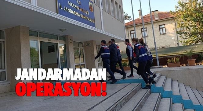 Jandarmadan, Suriye'den Mersin'e Gelen PKK/PYD Silahlı Terör Örgütü Mensuplarına Yönelik Operasyon: 2 Kişi Yakalandı