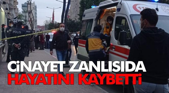 Elazığ'dan Gelip Tarsus'taki Amcasının Kızı Leyla Öztürk'ü Tabanca İle Vurup Ardından İntihar Eden ve Ağır Yaralı Hastaneye Kaldırılan Sebahattin Öztürk'de Öldü