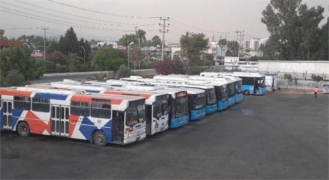 Tarsus'ta Büyükşehir Belediyesi Toplu Taşıma Araçlarının Hafta Sonu Çalışma Saatlerine Yeni Düzenleme