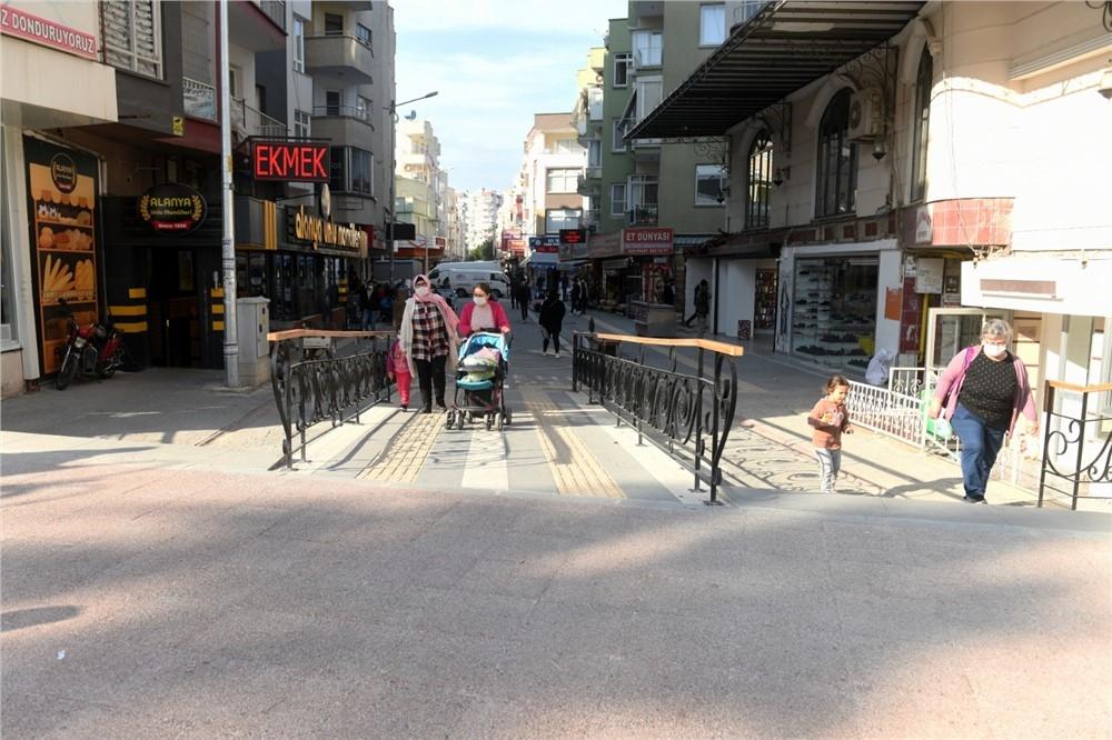 Alanya Sokağı Artık Çok Daha Renkli! Alanya Sokağı Yeni Yüzüyle Misafirlerini Ağırlıyor