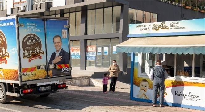 """Mersin Büyükşehir, Vatandaşı """"Ekmeksiz"""" Bırakmıyor! MER-EK'te Sokağa Çıkma Yasağında da Üretim Sürdü"""