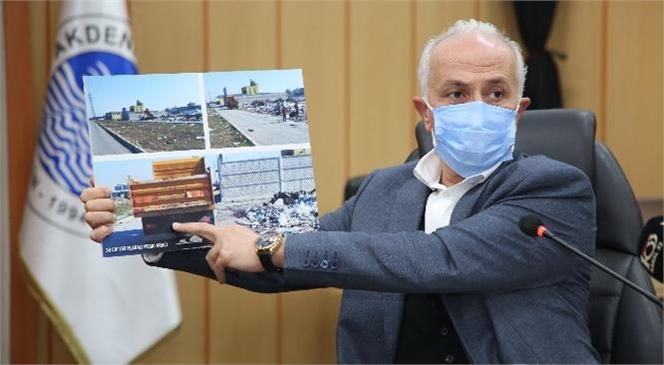 Akdeniz Belediye Başkanı Gültak'tan Moloz ve Çöp Yığınları Hakkında Açıklama