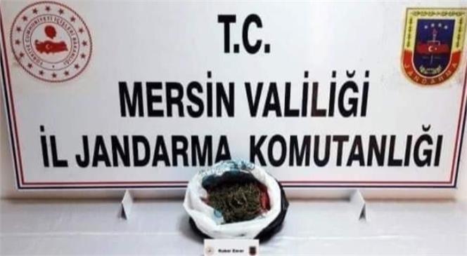 Mersin Tarsus'ta Dur İhtarına Uymayıp Kaçan, Kovalama Sonucu Yakalanan Araçta Uyuşturucu Ele Geçirildi