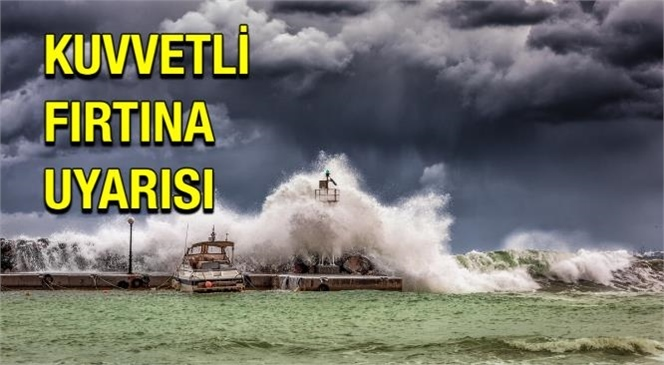 Akdeniz İçin Fırtına Uyarısı! Mgm'den Pazar Günü İçin Fırtına Uyarısı Yaptı