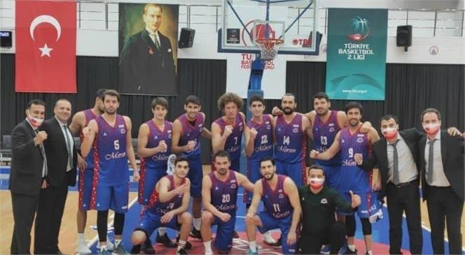 Mersin Büyükşehir Erkek Basketbol Takımı, İstanbul Büyükşehir Karşısında Galibiyet Kazandı