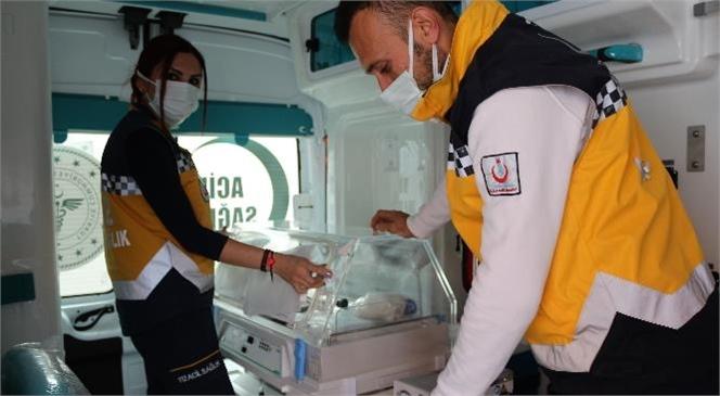 Yenidoğan Ambulansları Hizmete Girdi! Sağlık Bakanlığı Tarafından Mersin İl Sağlık Müdürlüğüne Gönderilen 3 Adet Yenidoğan Ambulansı Hizmete Girdi