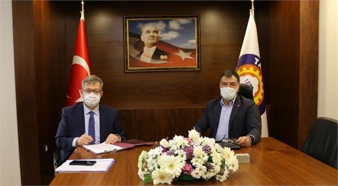Tarsus TSO ve Ziraat Bankası Arasında Protokol