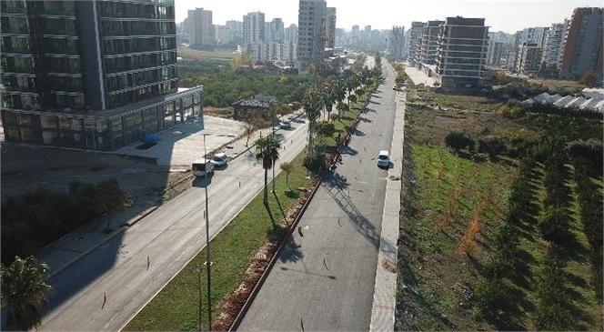 Büyükşehir'den 34. Cadde'de Hummalı Yol Yapım Çalışması
