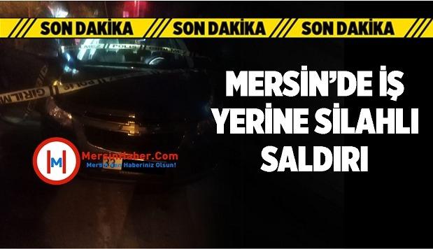 Mersin'in Tarsus İlçesinde Bir Oto Yıkamacıya Silahlı Saldırıda Bulunuldu