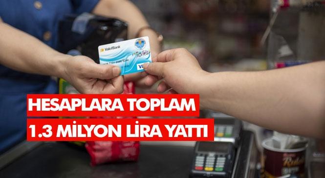 Mersin'de Dar Gelirlilerin Faydalandığı Halk Kart'ın Aralık Ayı Tutarları Yılbaşı Öncesi Hesaplara Yatırıldı! Hesaplara Toplam 1.3 Milyon Lira Yattı
