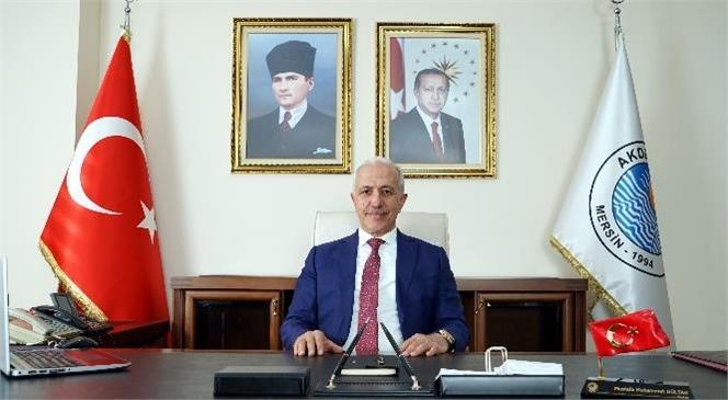 Akdeniz Belediye Başkanı Gültak'tan, Yeni Yıl ve 3 Ocak Mesajları