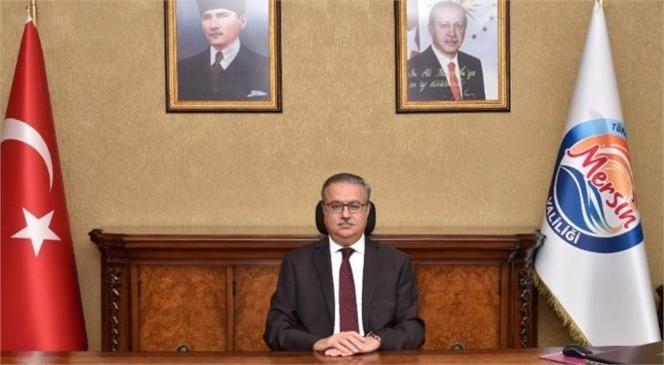 Mersin Valisi Su'dan Yeni Yıl Mesajı