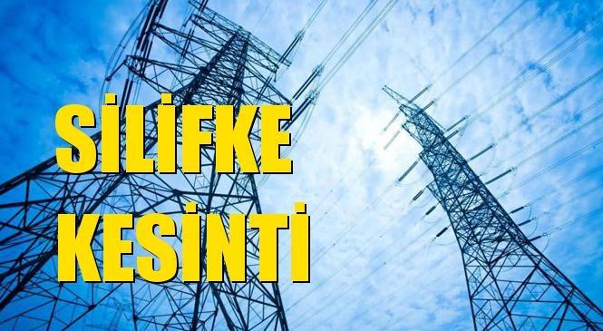 Silifke Elektrik Kesintisi 06 Ocak Çarşamba