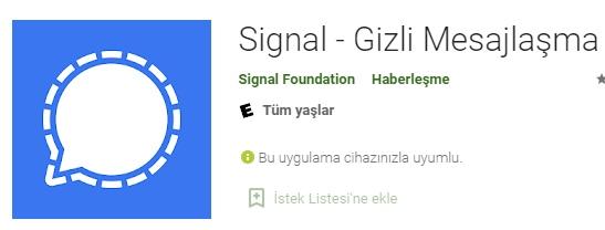 Whatsapp'ın Kararına Karşın Elen Musk'tan Daha Güvenli Olduğu İfade Edilen Program Önerisi: ''Signal Kullanın''