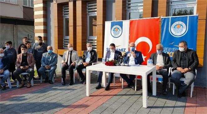 Akdeniz Belediye Başkanı Gültak, Özgürlük Mahallesi'ni Ziyaret Etti