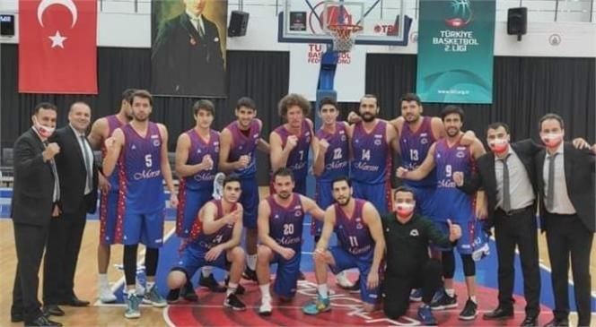 Büyükşehir Erkek Basketbol Takımı, Kayseri'den Mutlu Döndü
