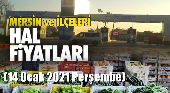 Mersin Hal Müdürlüğü Fiyat Listesi (14 Ocak 2021 Perşembe)! Mersin Hal Yaş Sebze ve Meyve Hal Fiyatları
