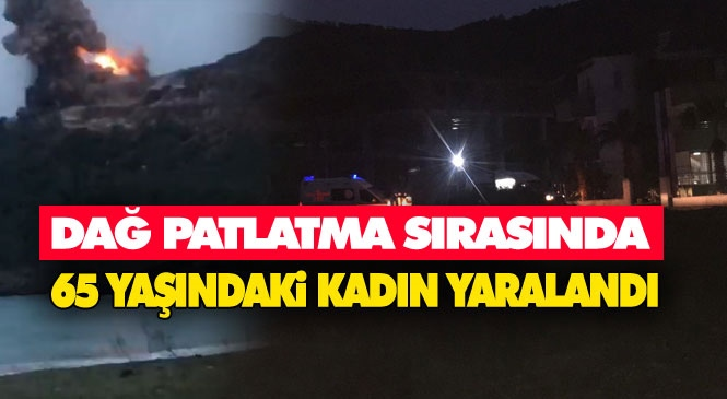 Akkuyu NGS'de Kontrollü Patlama! Gülnar Büyükeceli'deki Nükleer Santral Şantiyesinde Dağ Patlama Sırasındaki Patlatmada Yaşlı Kadın Başından Yaralandı