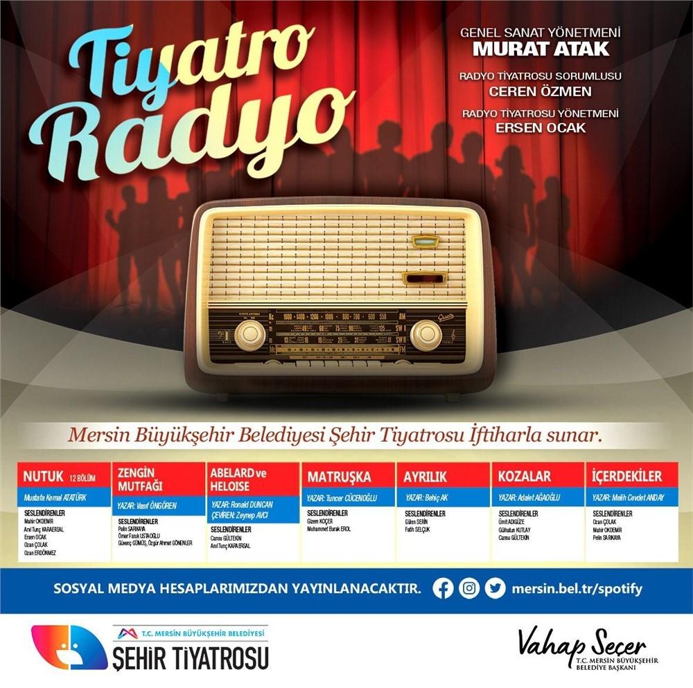 Büyükşehir Radyo Tiyatrosu İle Sanatseverlerle Buluşmaya Devam Ediyor