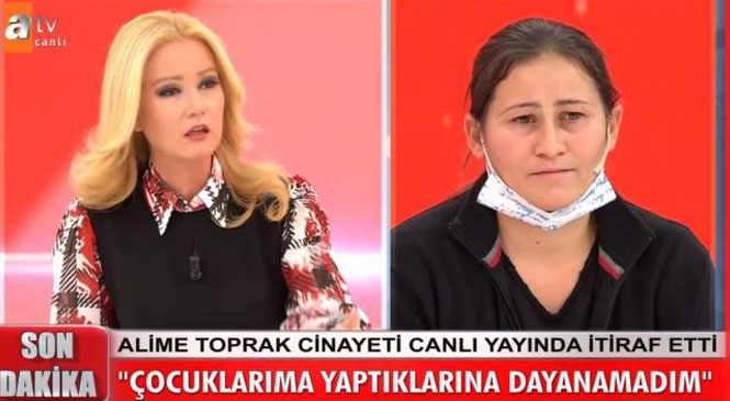 Mersin Anamur'daki Muz Serasında İşlenen Ali Toprak Cinayetinde, Eşi Alime Toprak Kocası Ali Toprak'ı Öldürdüğünü Kabul Etti