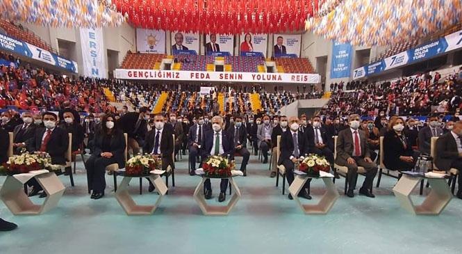 Tek Liste İle Gidilen AK Parti Mersin İl Olağan Kongresi Tamamlandı! Mevcut İl Başkanı Cesim Ercik Tekrardan Seçildi